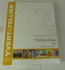 More details for yvert & tellier stamp catalogue - timbres d'asie (inde) 2015 asia/india - new
