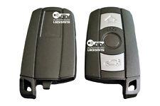 para BMW 1 3 5 6 7 Serie E90 E92 E93 de 3 BOTONES SMART Llave Mando Carcasa