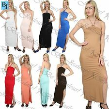 Unbranded Casual Maxi Halterneck Dresses for Women