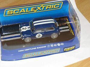 Scalextric Mini Cooper blau