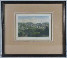 Stich von Elberfeld ca.1850. koloriert. Bildausschnitt  ca. 17,5x13,5cm. Selten