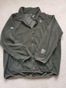 Nash ZT Fleece, XXL, Green, Carp Fishing., Warm, Layer, Jacket