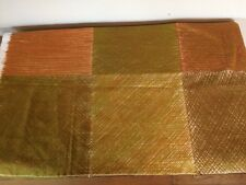VNTG Marimekko MAISEMA Cotton Fabric Fujiwo Ishimoto 1982 Green Brown 2.5 Yards