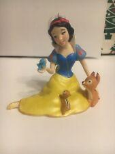 Biancaneve 80th Un EDT Porcellana Natale Disney Hallmark Ricordo Ornamento Nuovo