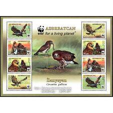 Aserbaidschan Azerbaijan WWF 2011, Schlangenadler, Kleinbogen II ** (postfrisch)