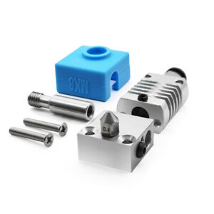 MK8 Metal Hotend Kit Silicone Protector for 3D Printer CR-10/10s Ender-3s