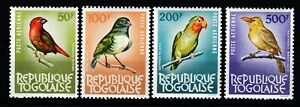 Togo 402-06 **, Flugpost-Ausgabe-Vögel