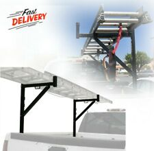Durable Heavy Duty Ladder Rack For Truck Pickup Long Materials Extension System