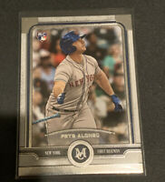 2019 Topps Museum Collection #79 PETE ALONSO Rookie RC New York Mets