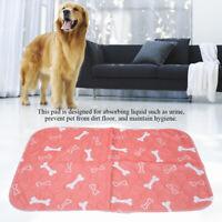 Multi-size Washable Pet Pee Pads Reusable Dog & Puppy Training Mat Waterproof