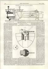 1890 Cross Cut-Off Valvola GEAR NUOVO elswick PISTOLA Montaggio