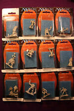 MTG Miniature Pewter SET 12 PIECES 4TH RELEASE #9137-48 FREE SHIPPING