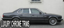 BMW 7 Series E32 Stainless Chrome Pillar Posts by Luxury Trims 1988-1994 (6pcs)