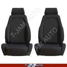 Adventurer 4x4 4WD Bucket Seat Pair 2 x Black Cloth ADR Approved Nissan Patrol