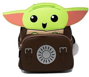 Loungefly Baby Yoda Grogu Cosplay Mini Backpack
