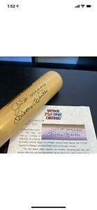 Mickey Mantle & Joe Dimaggio Dual Signed Louisville Slugger Game Bat PSA DNA