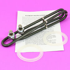 """Spa Heater Element Hot Tub Heating Coil 4kw Side Terminal Style 9.8"""" 230/115v"""