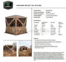BC350BB 3 Man Barronett Blinds BIG CAT 3D BLADES CAMO Hub Ground Blind OPEN BOX