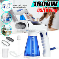 1600W Portable Handheld Electric Steam Iron Brush Steamer Travel Laundry Clothes