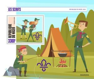 Niger Scouting Stamps 2020 MNH Boy Girl Scouts 1v S/S
