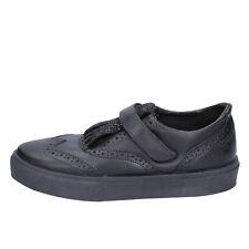 scarpe donna 2 STAR 39 EU sneakers nero pelle glitter BX380-39