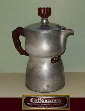 Caffettiera da 6 tazze CAFFEXPRESS in alluminio OMG - Coffee maker Moka