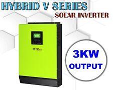 3000w 48vdc Hybrid Solar inverter  230vac grid tid + off grid PV input 145vdc