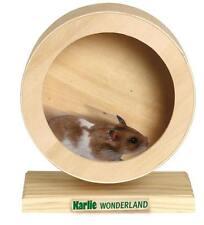 WONDERLAND Bogie Wheel Holz Laufrad - ø 15 cm z.B. für Hamster, Mäuse - 84197