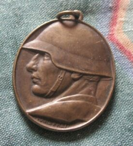Switzerland WW1 National Donation Medal For  Soldiers By Hans Frei