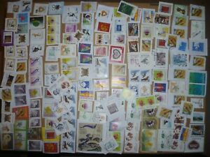 40 grams mixtures Slovenia stamps on single paper kiloware