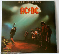 AC/DC Let There Be Rock LP vinyl Eur 2003 Columbia 5107611 New/Sealed