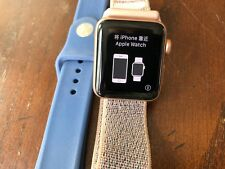 Apple Watch Series 3 38mm Gold Aluminium Case with Two Bands (GPS + Cellular)