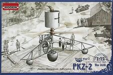 PZK-2 - WW I HELICOPTER (AUSTRO-HUNGARIAN MKGS) 1/72 RODEN