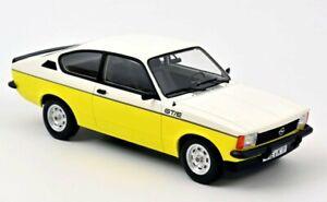 OPEL Kadett GT/E - 1977 - white / yellow - Norev 1:18