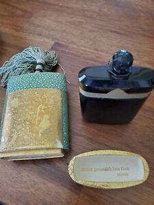 Caron Nuit de Noel vintage 1 oz  Baccarat Bottle&Box, New w/frozen stopper
