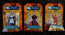 """THE FLASH /  PSYCHO PIRATE / THE MONITOR DC Universe  3.75""""  Figures SET OF 3"""