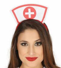 Diadema Enfermera Ideal Para Carnaval Complemento Disfraz Doctora Medico