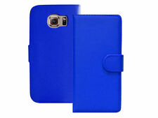 Plain Synthetic Leather Cases & Covers for Samsung Mobile Phones