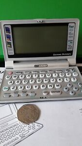 Vintage SHARP ELECTRONIC DICTIONARY Model: PW-E500A