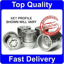 PREMIUM QUALITY ALLOY WHEEL LOCKING NUTS - FORD FOCUS C-MAX SECURITY LUGS [N0e]