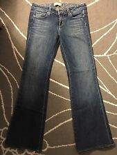 Paige Hollywood Hills boot cut Jeans Sz 28 Inseam 30
