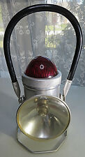 VINTAGE TRAIN THE HANDILITE CO MID CENTURY RAILROAD LAMP LANTERN LIGHT