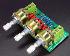 Passive amp tone board Bass/High pitch/ Volume Control Pre-amplifier Board Kits