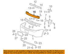 GM OEM Rear Bumper-Impact Reinforcement Bar Rebar 20895999