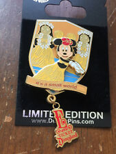 DLR Passholder Disneyland E Ticket Collection it's a small world Minnie Pin