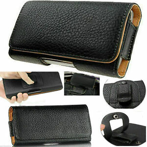 Universal Belt Clip Hip loop Pouch for Samsung Mobile Phone Case Cover PULeather