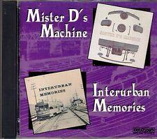MISTER D's MACHINE & INTERURBAN MEMORIES: DIESEL TRAIN SOUND EFFECTS (1993) RARE