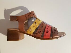 Remonte R8764-24 Damen Sandalen mit Klettverschluss mehrfarbig Größe 41 NEU