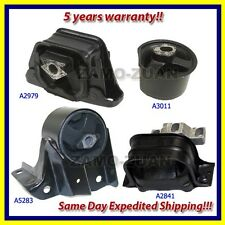 Fits: 1996 Plymouth Breeze 2.0L Engine Motor & Trans. Mount Set 4PCS for Manual