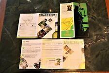 CHARTREUSE 3 BROCHURE VECCHIE E INTERESSANTI DI CUI UNA DEL 1982  dimensioni 2 -